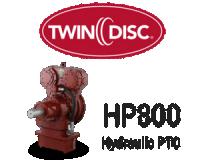 Twin Disc HP 800