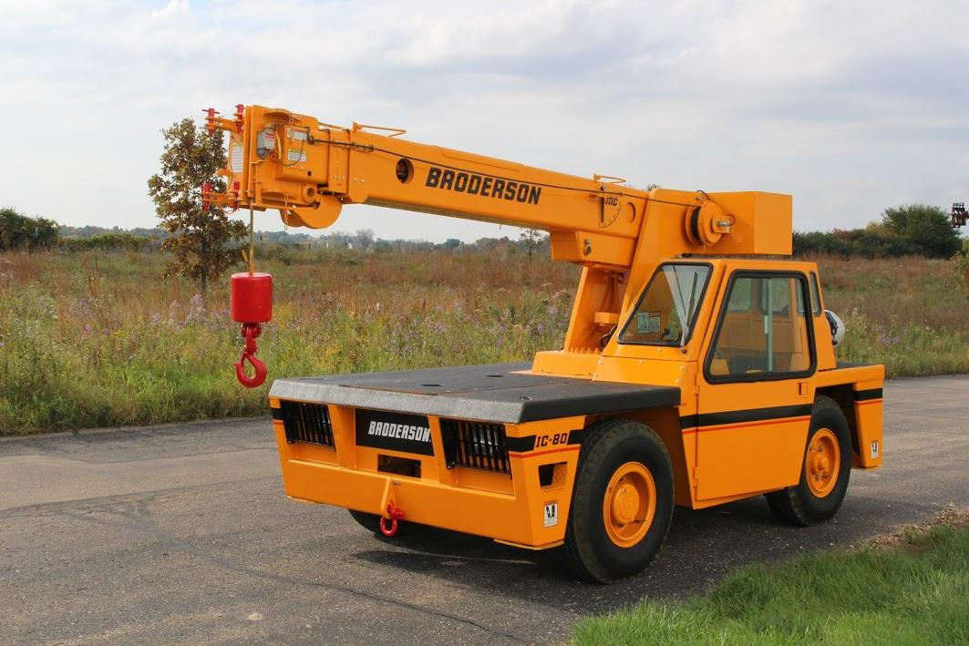 FOR SALE: Broderson Crane IC80-2D | Palmer Johnson Power…