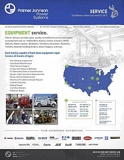Equipment Service Linecard 2018