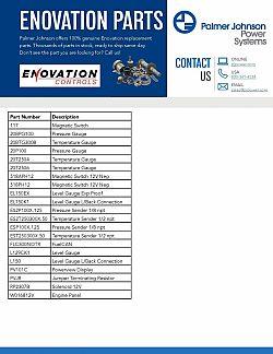 Enovation Part List