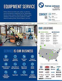PJ Equipment Service Linecard