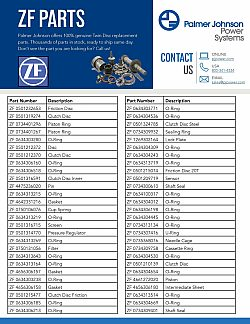ZF Part List page 1 updated