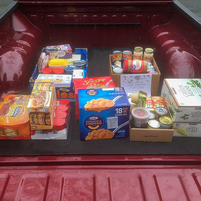 Kent food donation 2