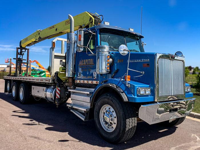 PJ RECON Crane Truck Project 2