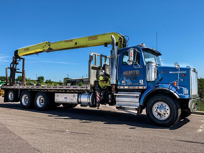 PJ RECON Crane Truck Project 3