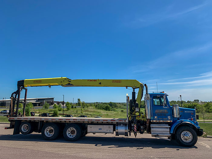 PJ RECON Crane Truck Project 4