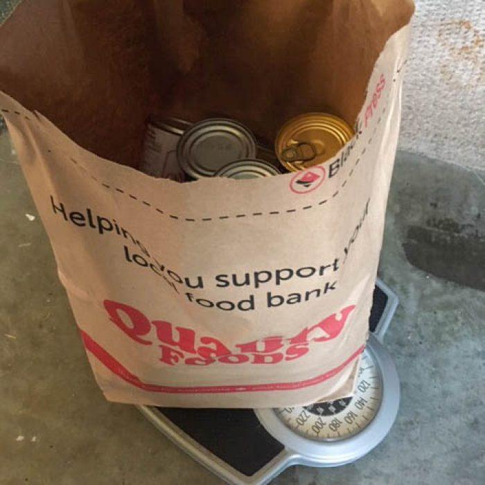 Sandy BC food donation 2