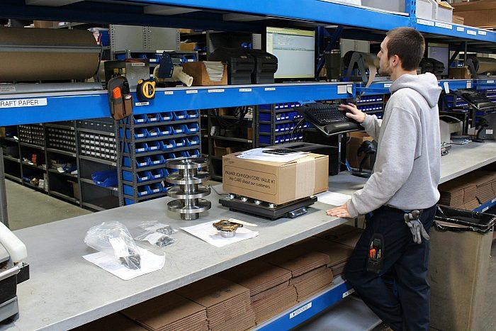 PJ Power Shipping Department