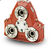 Twin Disc Technodrive AM330 Pump Drive